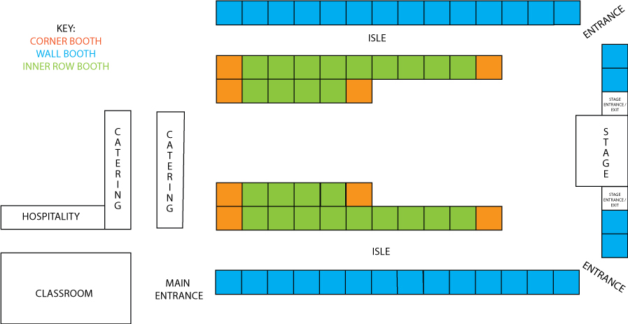 BOOTH LAYOUT 2015